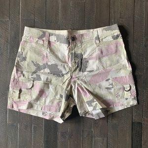 Lee Army Print Shorts